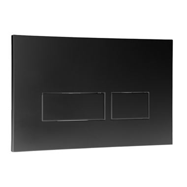 Drench Premium Trend Flush Plate - Black